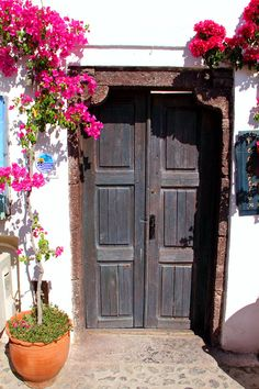 Doorway in Oia, Santorini