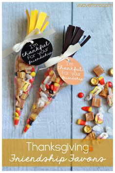 Thanksgiving friendship favors