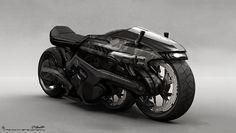 ArtStation - G.I. JOE Retaliation: Firefly Bike Concept , Jerad Marantz
