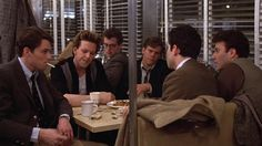 Diner. Barry Levinson's best work, a classic. Rourke in his first prime, Kevin Bacon...one of those movies that feels like it says it all