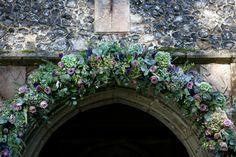 Purple & Lilac Arch