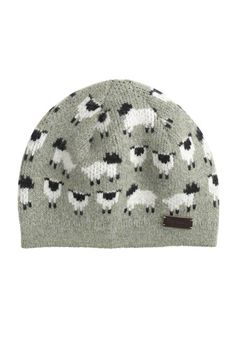 Girls' Barbour sheep beanie. Cute.