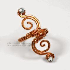 Swirly Adjustable Ring Tutorial