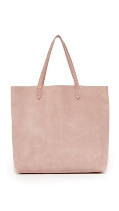 Suede Transport Tote