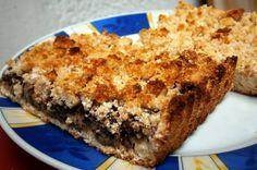 Egyszerű, diétás almás-mákos pite Banana Bread, Desserts, Food, Tailgate Desserts, Deserts, Essen, Postres, Meals, Dessert