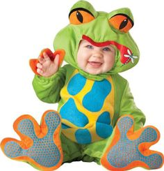 Amazon.com: Lil Characters Unisex-baby Newborn Froggy Costume