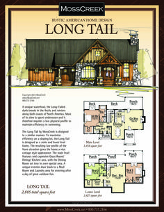A Ready to Purchase 2,885 SF Home Plan from MossCreek.