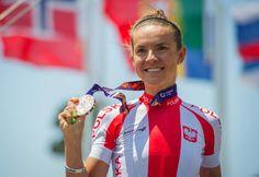Maja Włoszczowska  bronze medal 1 IE Baku 2015