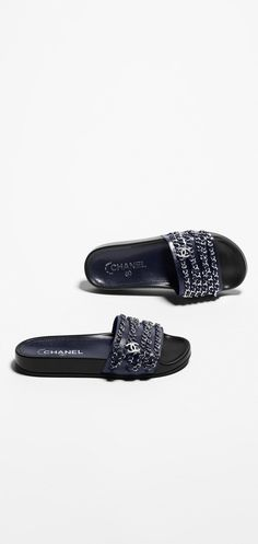 Chanel Spring-Summer 2016 Pre-collection - glazed calfskin-navy blue