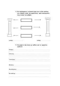 2ο Επαναληπτικό μάθημα Ιστορίας: Αρχαϊκά χρόνια - Ιστορία Δ΄ Bar Chart, Floor Plans, Diagram, Bar Graphs, Floor Plan Drawing, House Floor Plans