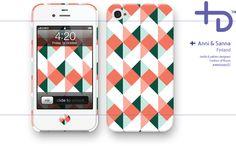 Stylish iPhone cases by finnish designers Anni & Sanna Design Patterns, Print Patterns, Phone Accessories, Lab, Smartphone, Iphone Cases, Designers, Stylish, Girls