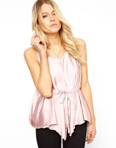 Women's Blouses light purple satin double layer chiffon sleeveless chiffon shirt-inBlouses & Shirts from Apparel & Accessories on Aliexpress...