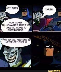 Three. It takes three. <<This isn't ok joker. not ok at all>>