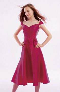 hot pink beach maid of honor dress cap sleeve designs Some Maid Of Honor  Dresses With 78d64a90983