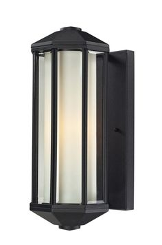Z-Lite 525-bk Cylex Collection Outdoor Wall Light