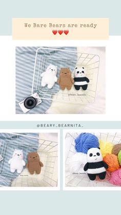 Crochet Penguin, Crochet Bee, Kawaii Crochet, Crochet Cat Pattern, Crochet Amigurumi Free Patterns, Crochet Teddy, Crochet Animal Patterns, Stuffed Animal Patterns, Cute Crochet
