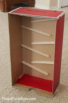 Build a marble run with craft sticks                                                                                                                                                                                 More