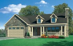 OneStory-THranch-Bainbridge-elevation Finalist number 1 for our house plan!