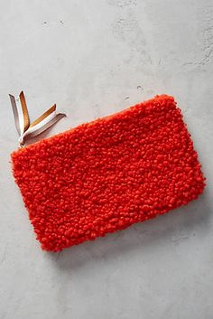 Discover unique Clutch Bags at Anthropologie, including the seasons newest arrivals. Learn Embroidery, Embroidery Fashion, Hand Embroidery, Wallet Sewing Pattern, Rya Rug, Punch Needle Kits, Sew Wallet, Handmade Bags, Couture