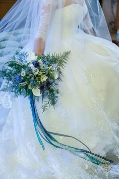 My blue bouquet :)