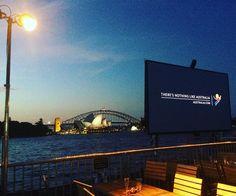 There's nothing like Australia! The spectacular view from #StGeorgeOpenAir cinemas at #mrsmacquariespoint #sydneyoperahouse #comeonin #sydneyharbourbridge #sydneyharbour #ilovesydney #seeAustralia #restaurantaustralia #cinemaunderthestars #outdoorcinema #theworldsmostbeautifulcinema #alifeoutside  @sydneyoperahouse @australia @stgeorgeopenair @sydney @madebytait by ess_dee17 http://ift.tt/1NRMbNv