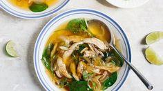 Spicy Chicken Soup Recipe | Bon Appetit