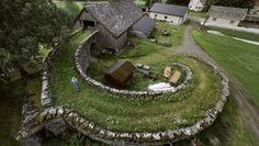 In 1885, Lars Petter Olsen Valldal in the Valldal valley in Møre og Romsdal completed the barn. Then he spent seven years building this functional and beautiful barn bridge.(Photo: Oddleiv Apneseth...