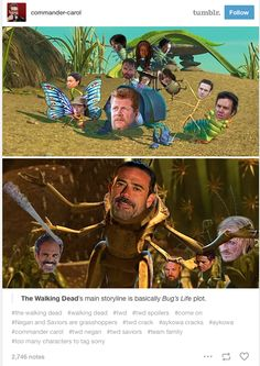 The Walking Dead Negan meme