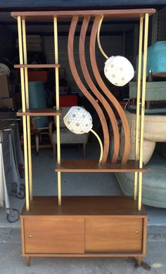 1960's Retro Room Divider Jetsons Atomic Funky 50s. $450.00, via Etsy.
