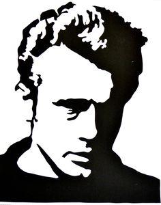 James Dean Silhouette
