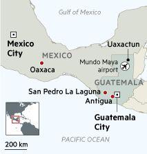 Map: Guatemala