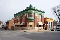 Yellow Brick Bank  Shepherdstown, West Virginia