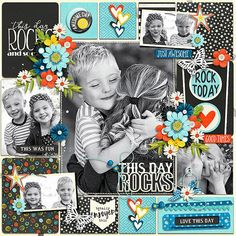 Gallery Standouts | Showcasing some of the most outstanding digital scrapbooking layouts posted in the galleries, almost every single day.