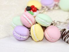 French Macaron Wallpapers | French desserts - Macaron by OrionaJewelry