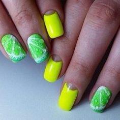 Green? Nail Art