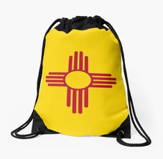 New Mexico Patriotic State Flag. • Millions of unique designs by independent artists. Find your thing. Backpack Bags, Drawstring Backpack, New Mexico Flag, Flag Shop, Team Usa, Flag Design, Woven Fabric, Backpacks