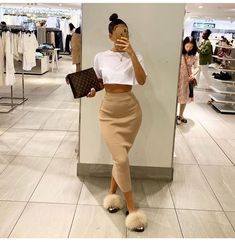 Fashion 2019 New Moda Style - fashion Dope Outfits, Cute Casual Outfits, Stylish Outfits, Girl Outfits, Fashion Outfits, Fashion Clothes, Fashion Hats, Clothes Women, Swag Outfits