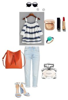 """""""Ruffles"""" by ulusia-1 ❤ liked on Polyvore featuring M.i.h Jeans, Lodis, Chanel, Pomellato and Gucci"""