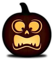 Free Pumpkin Carving Templates-Simple Faces Orange and Black Pumpkins Black Pumpkin, Ghost Pumpkin, Pumpkin Art, Pumpkin Faces, Pumpkin Ideas, Pumpkin Carvings, Pumpkin Template Printable, Printable Pumpkin Carving Patterns, Pumpkin Patterns