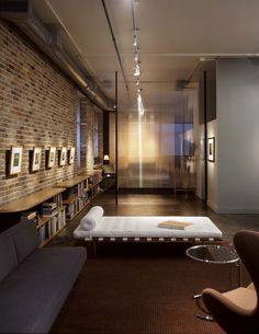 Downtown Loft - modern - living room - austin - Tim Cuppett Architects