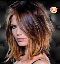 Medium length hairstyles 2018 - New Hair Styles ideas Pretty Hairstyles, Bob Hairstyles, Bob Haircuts, Layered Hairstyles, Black Hairstyles, Wedding Hairstyles, Asymmetrical Hairstyles, Latest Hairstyles, Braided Hairstyles