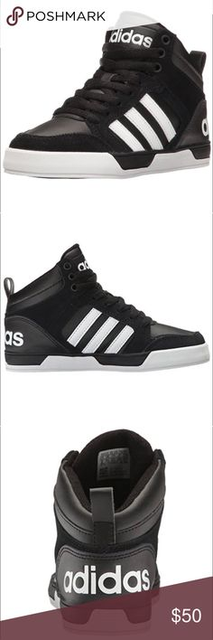 Adidas Neo Raleigh 9TIS High Top Sneaker sz8-5 Adidas Neo Raleivh 9TIS high top sneakers size mens 8.5 womens 6.5 in excellent condition as seen in my pics no stains or tears adidas Shoes Sneakers