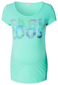 Дамска тениска за бременни NOPPIES - зелен