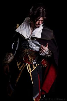 Ezio Cosplay 9 by ~DominoEgnallangE I'm torn between gaping in awe (my mother is) and drooling.