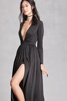 Girl In Mind M-Slit Maxi Dress