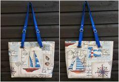 Totes Ma Tote Nautical Beach Bag ⛵ - Sew, What's New?