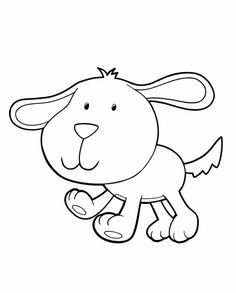Dog Coloring Pages For Kids Printable - http://fullcoloring.com/dog-coloring-pages-for-kids-printable.html