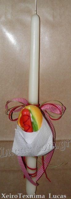 Λαμπάδα hot dot http://lucas.com.gr/el/our-shop/candles/decorative-candles.html