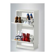 BISSA Schuhschrank, 2fach IKEA Für schnelle Ordnung, gute Übersicht über Schuhe und mehr Platz im Flur.