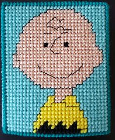 Peanuts Plastic Canvas Tissue Box Charlie Brown by sanzosgal.deviantart.com on @DeviantArt